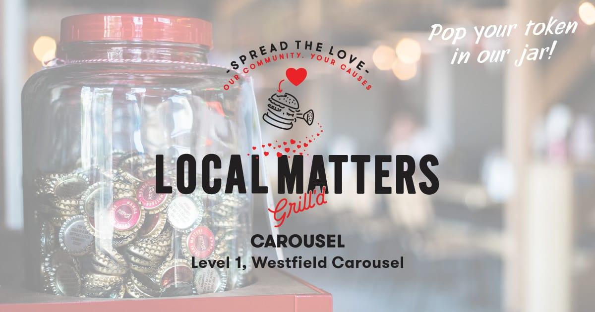 Grill'd Carousel Fundraiser